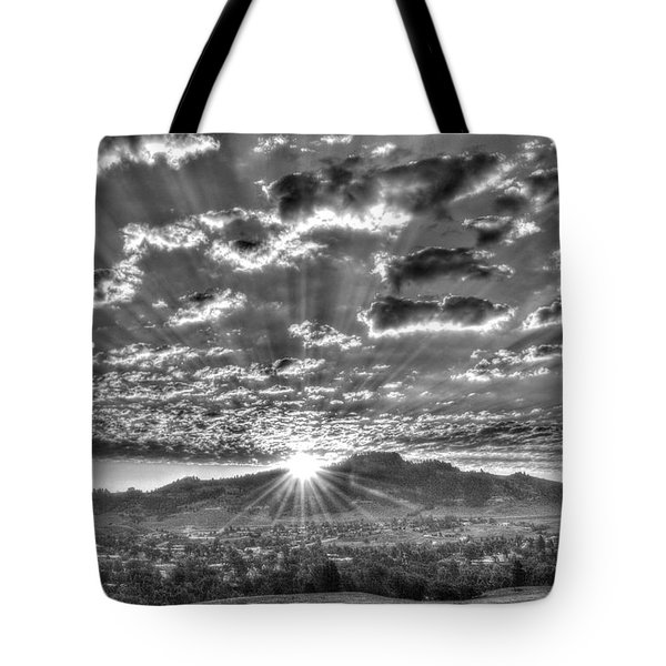 Spearfish Sunrise Tote Bag