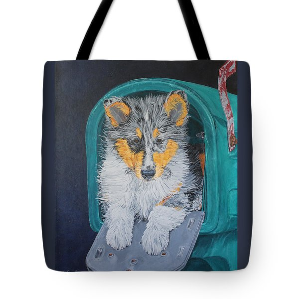 Special Delivery Tote Bag by Wendy Shoults