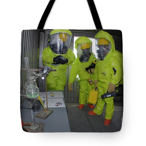Specialists Survey A Simulated Area Tote Bag by Stocktrek Images