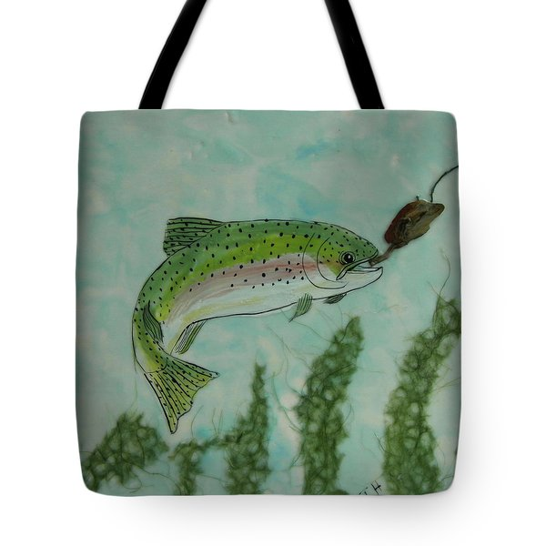 Speckled Tote Bag by Terry Honstead