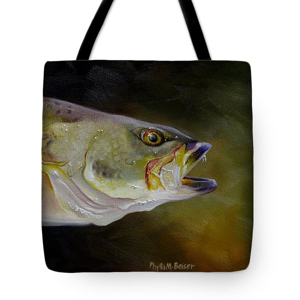 Speckled Trout Study Tote Bag