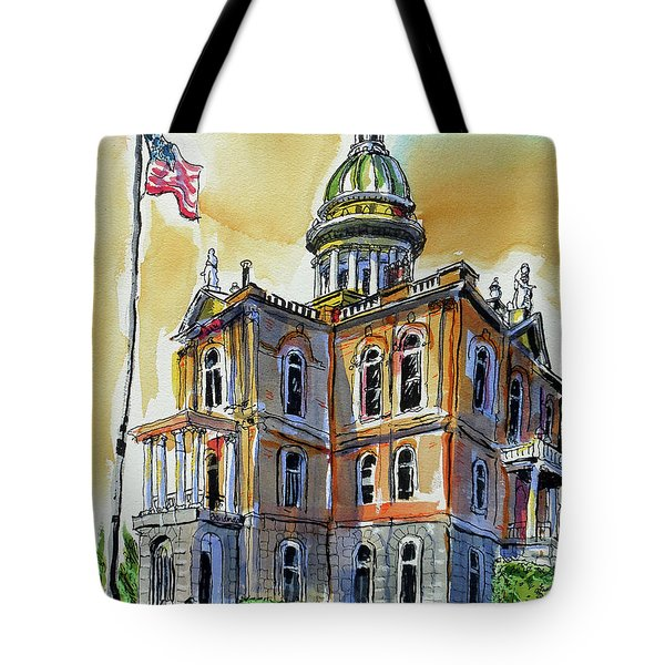Spectacular Courthouse Tote Bag