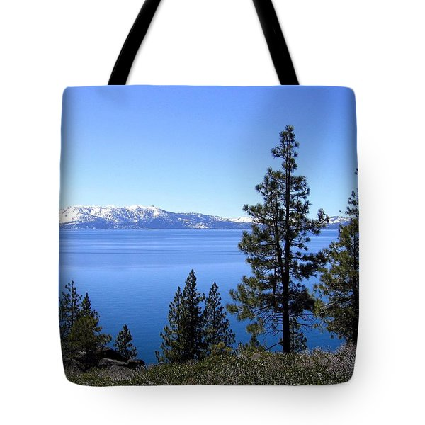 Spectacular Lake Tahoe Tote Bag