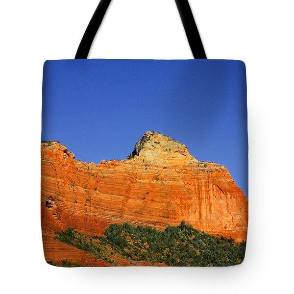 Spectacular Red Rocks - Sedona Az Tote Bag by Christine Till