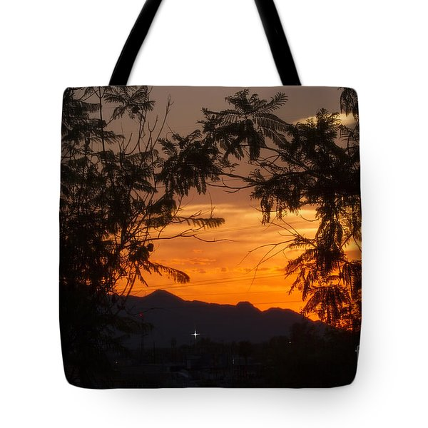 Spectacular Sky Tote Bag by Anne Rodkin