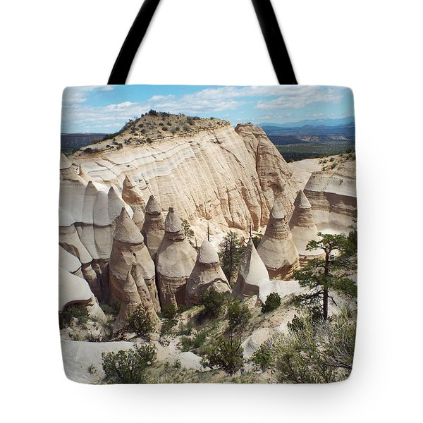 Spectacular Slot Canyon Trail View-at-the-top Tote Bag