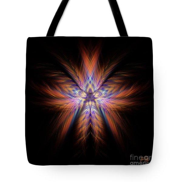 Spectra Tote Bag by Alina Davis