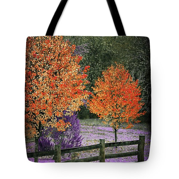 Spectral Autumn Tote Bag