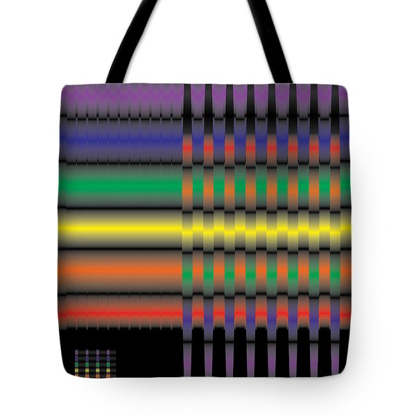 Spectral Integration Tote Bag by Kevin McLaughlin