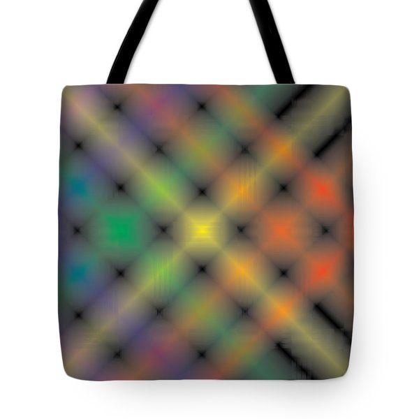 Spectral Shimmer Weave Tote Bag by Kevin McLaughlin