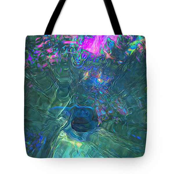 Spectral Sphere Tote Bag by Todd Breitling