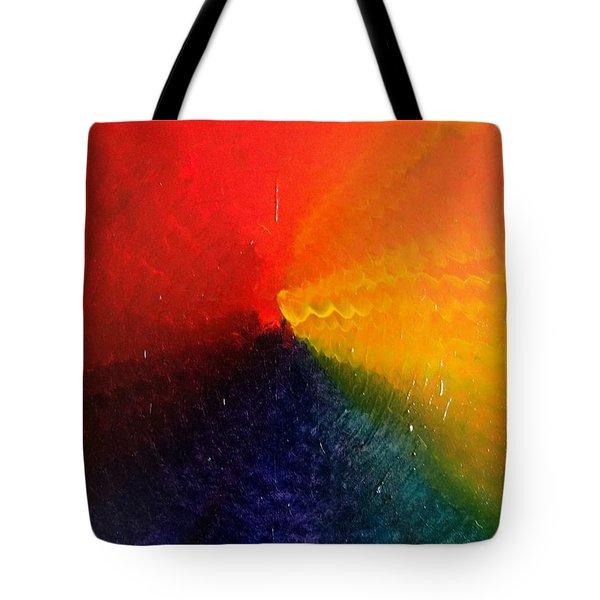 Spectral Spiral  Tote Bag