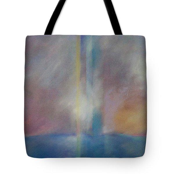 Spectral Sunrise Tote Bag