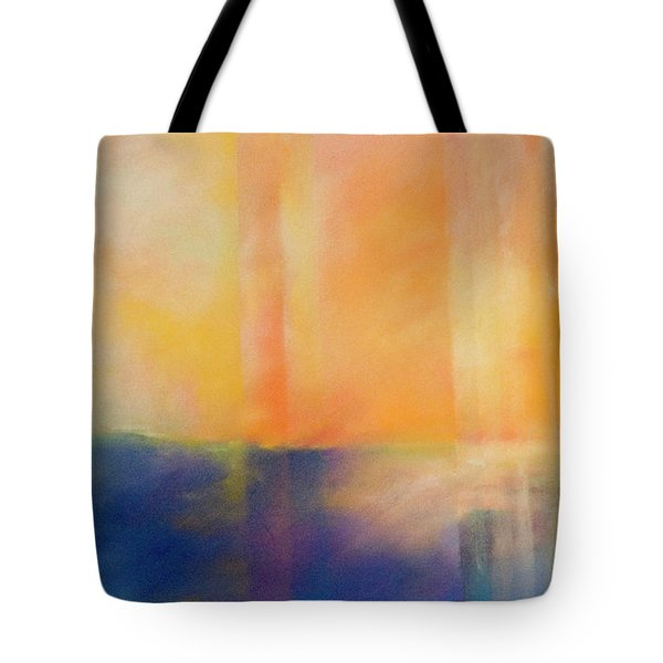 Spectral Sunset Tote Bag