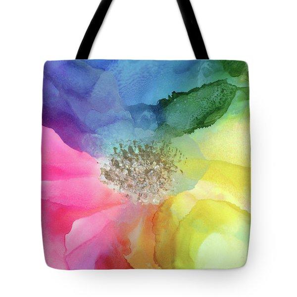 Spectrum Of Life Tote Bag