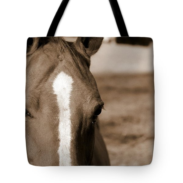 Speechless Tote Bag