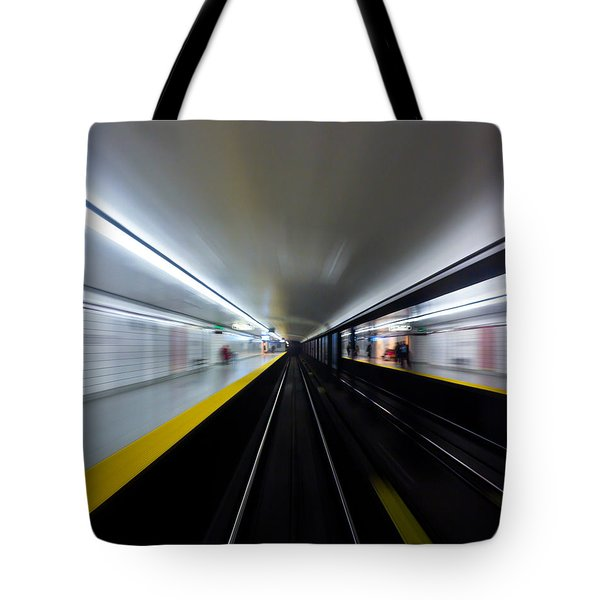 Speed 3 Tote Bag by Brian Carson