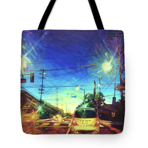 Speed Of Light Tote Bag