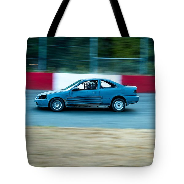Speeding Up Tote Bag