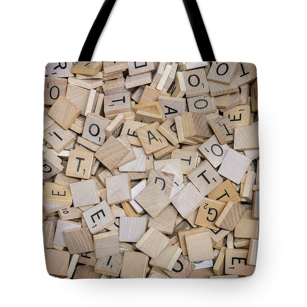 Spell It Out Tote Bag