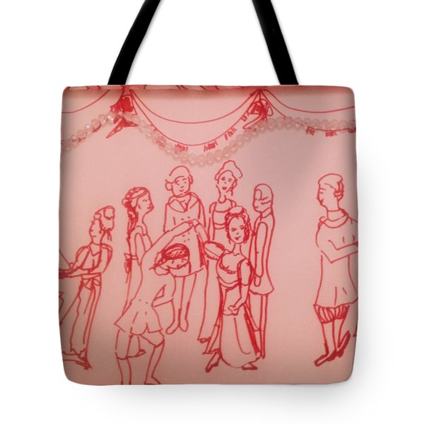 Spellbinding Dance Of Joy Tote Bag