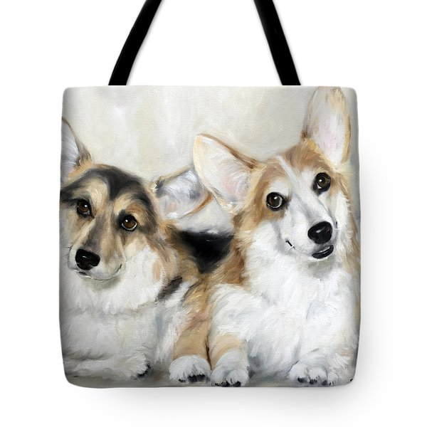 Spencer And Angus Tote Bag