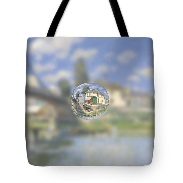 Sphere 18 Sisley Tote Bag
