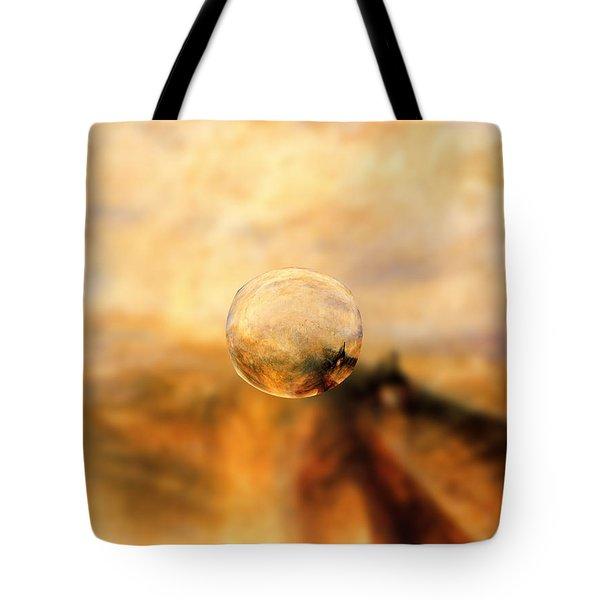 Sphere 8 Turner Tote Bag