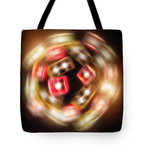 Sphere Of Light Tote Bag by Wim Lanclus