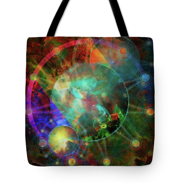 Sphere Of The Unknown Tote Bag