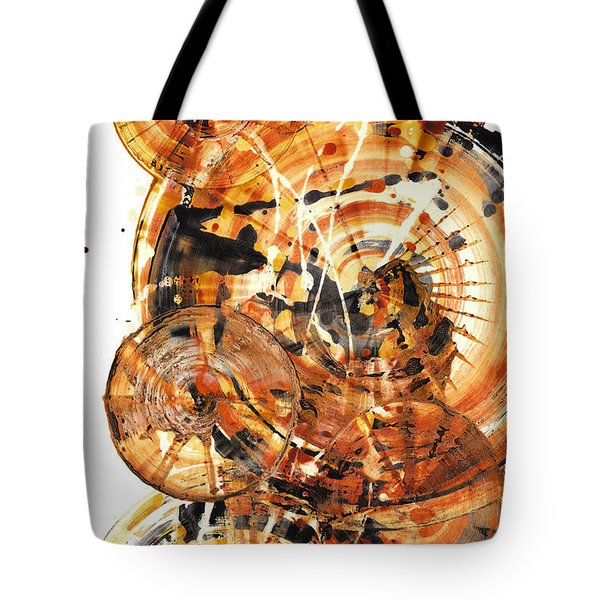 Tote Bag featuring the painting Sphere Series 1021.050212 by Kris Haas