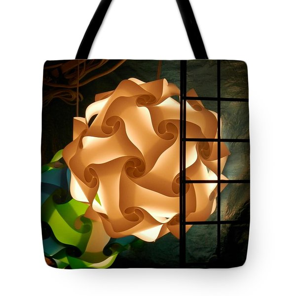 Spheres Of Light Tote Bag