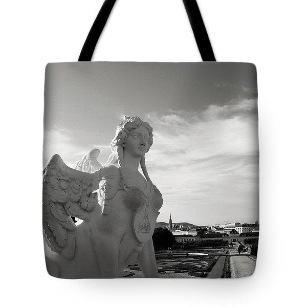 Sphinx- By Linda Woods Tote Bag