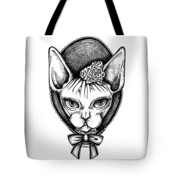 Sphynx Lady Tote Bag
