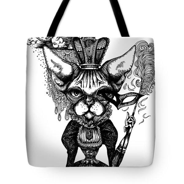 Sphynx Queen Tote Bag