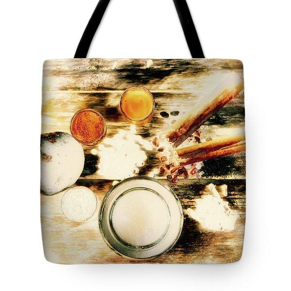 Spice Brown  Tote Bag