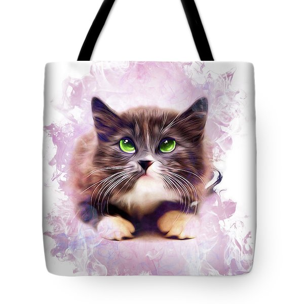 Spice Kitty Tote Bag