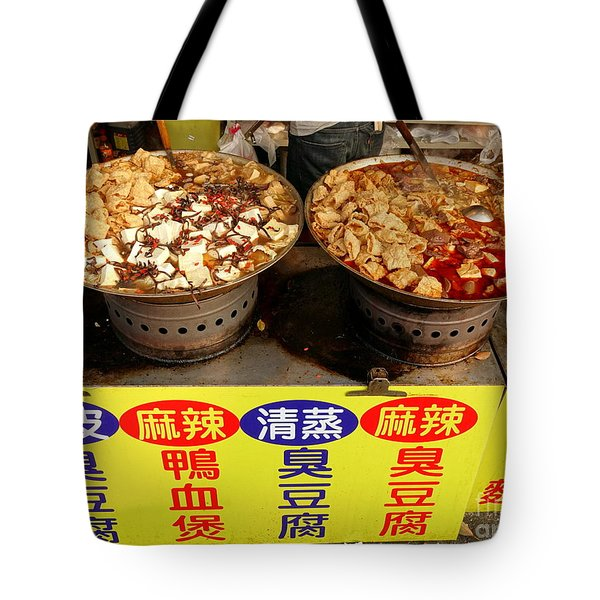 Tote Bag featuring the photograph Spicy And Herbal Hot Pot Food by Yali Shi