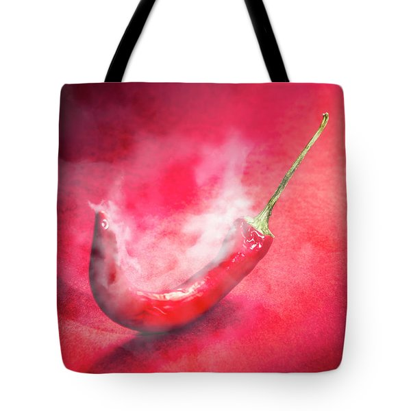 Spicy Food Art Tote Bag