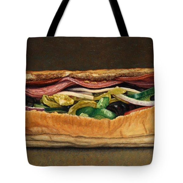 Spicy Italian Tote Bag by James W Johnson
