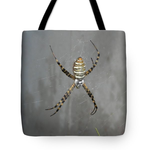 Spider Tote Bag by Adrienne Petterson