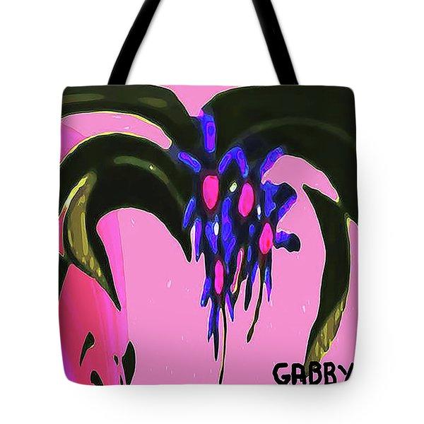 Spider Flower Tote Bag