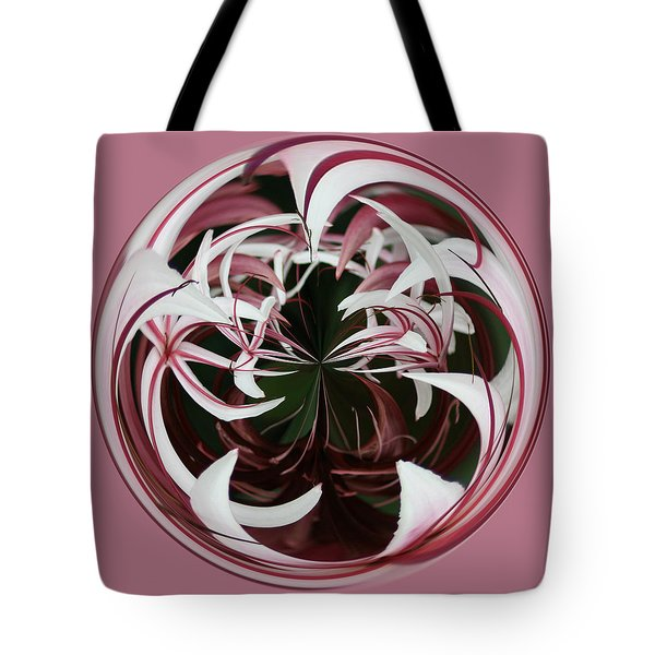Spider Lily Orb Tote Bag by Bill Barber