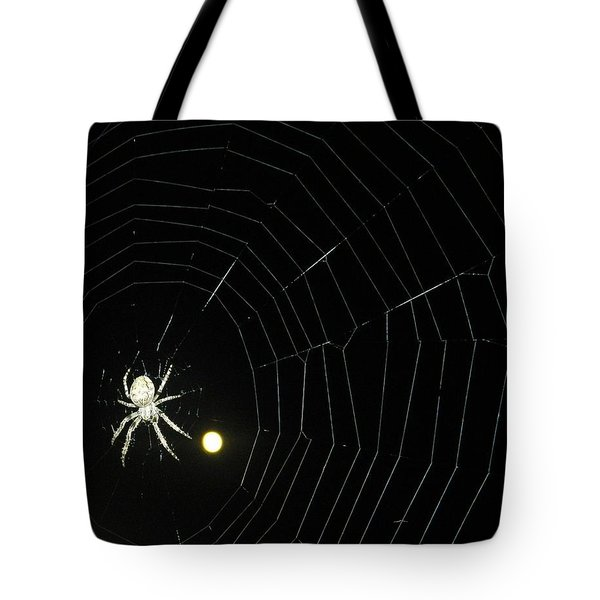 Spider Moon Tote Bag