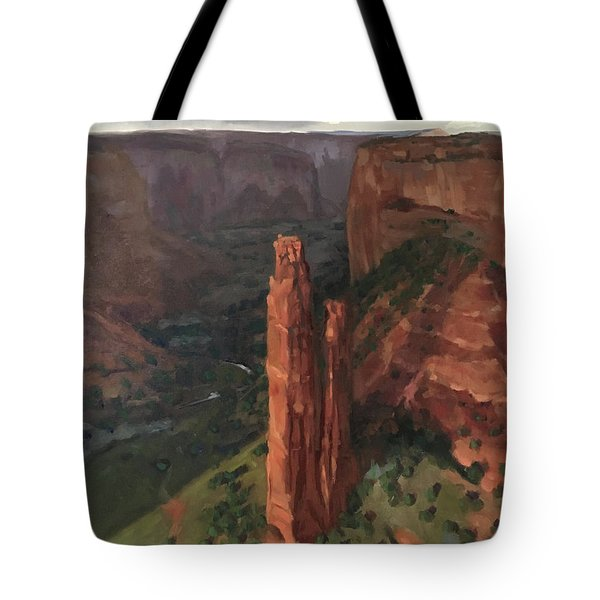 Spider Rock, Canyon De Chelly Tote Bag