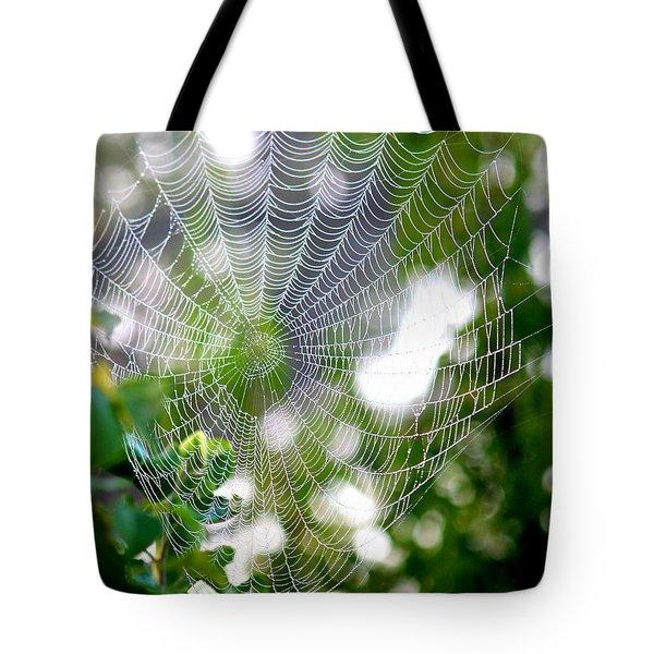 Spider Web 2 Tote Bag