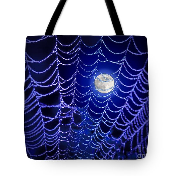 Spider Web Tote Bag by George Robinson