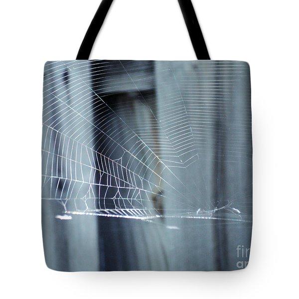 Spider Web Tote Bag