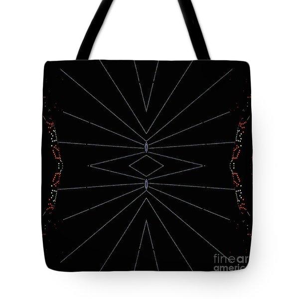 Spider Webs Tote Bag