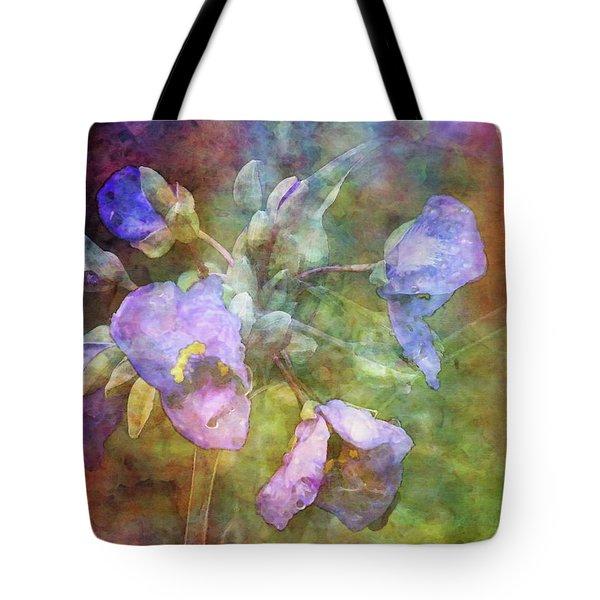 Spiderwort 1398 Idp_2 Tote Bag